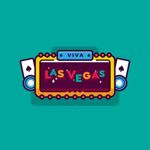 Las Vegas-Vektor vektor