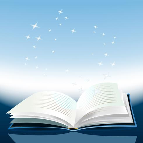 Magisches Buch vektor