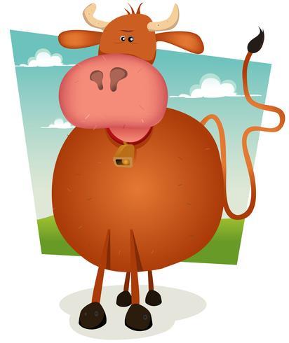 Karikatur Bull vektor