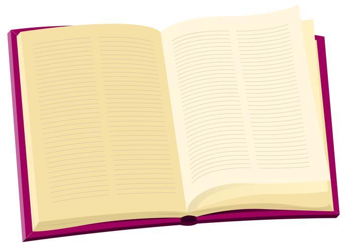 Enzyklopädie Buch vektor