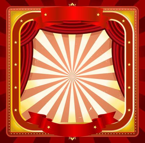 Cirkusramaffisch Bakgrund vektor