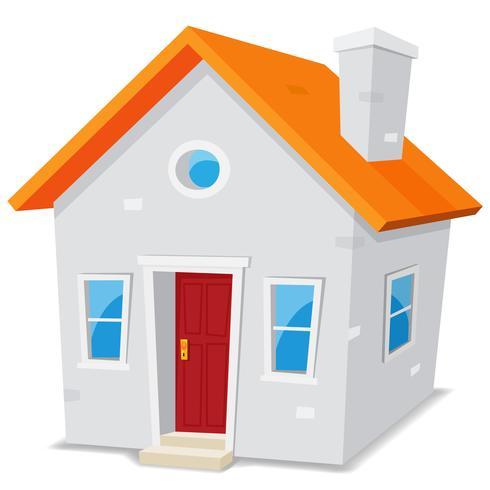Litet hus vektor