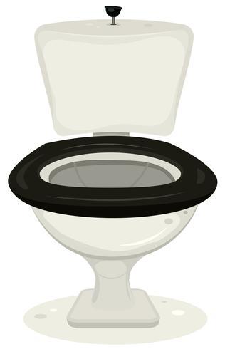 tecknade toaletter vektor
