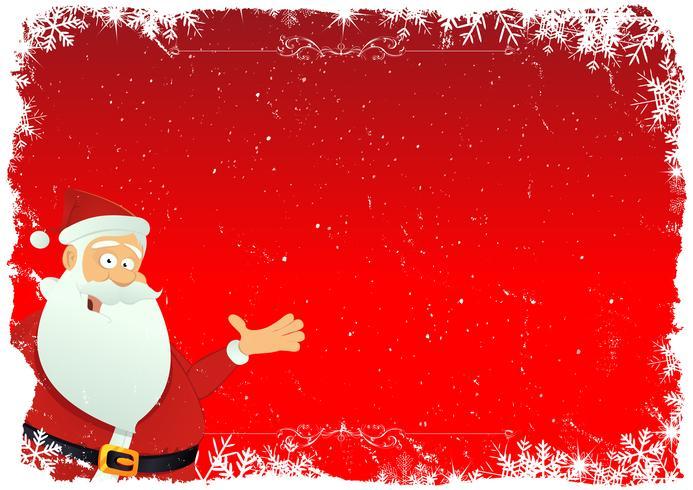 Santa bakgrund vektor