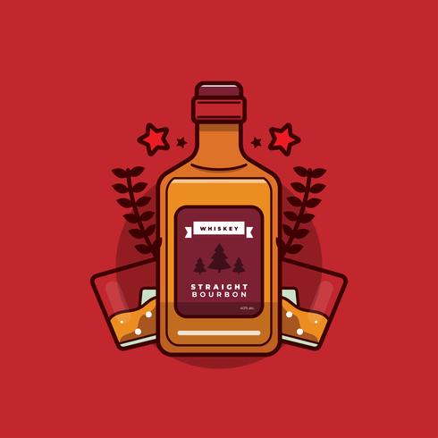 Bourbon-Vektor vektor