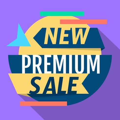 Premium-Verkauf vektor