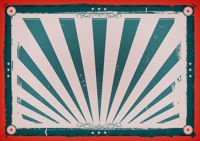 Unabhängigkeitstag-Weinlese-horizontales Plakat vektor