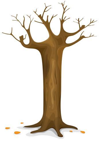 Hösten träd vektor