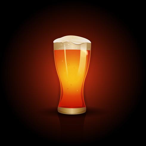 Bier Hintergrund Design vektor