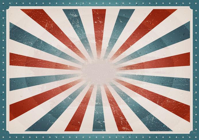 vintage amerikansk bakgrund vektor