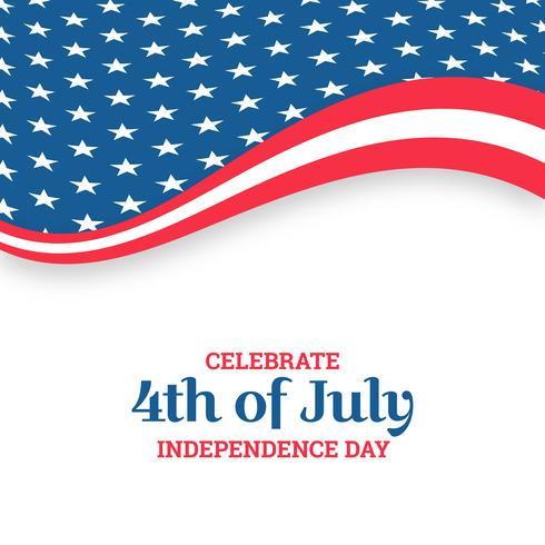 Independence day design. Semester i USA vektor