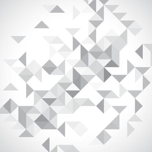 Monokrom låg poly bakgrund vektor