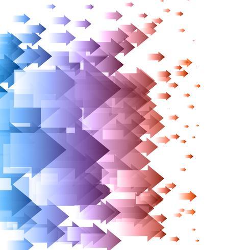 Abstrakt pilbakgrund vektor