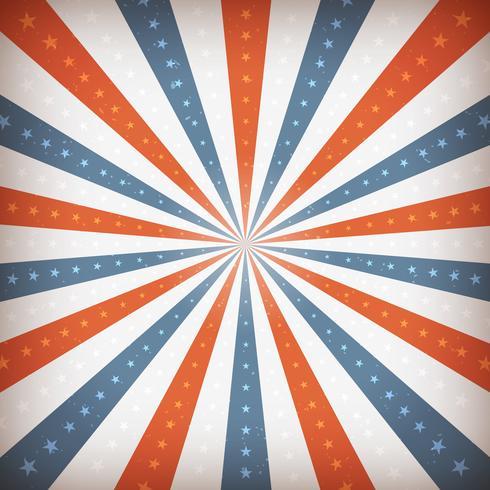 Amerikanischer vierter Juli-Hintergrund vektor