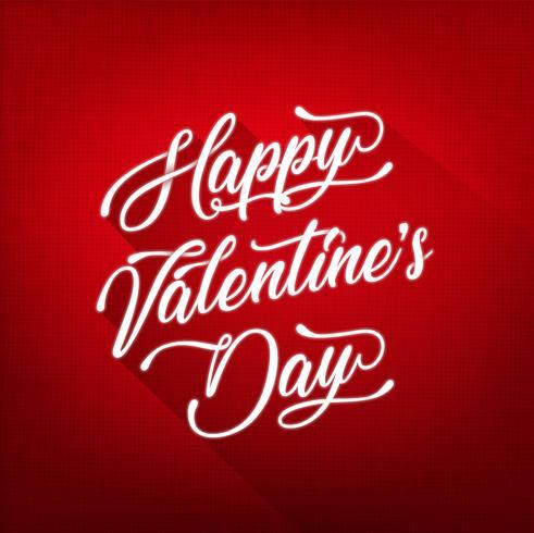 Happy Valentinstag Hintergrund vektor