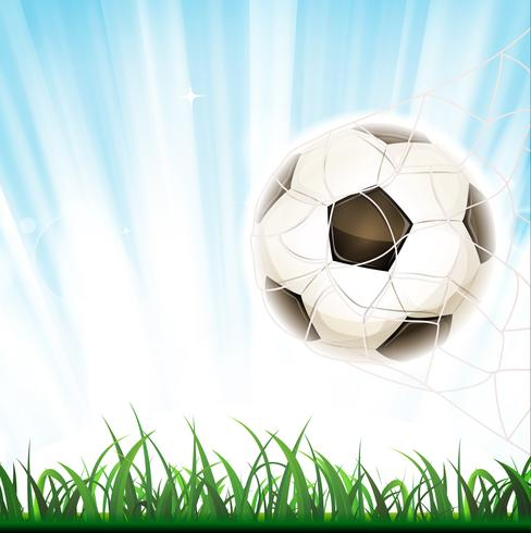 Fotbollsmål vektor