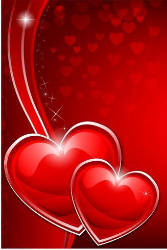 Alla hjärtans hjärta vektor