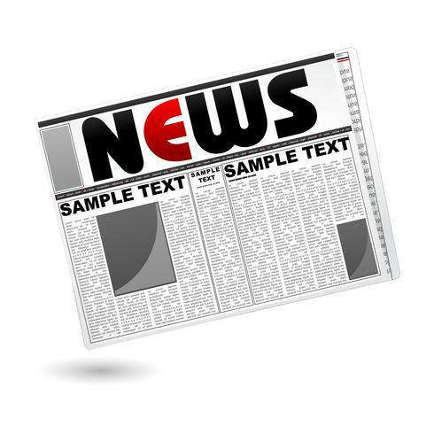 Zeitung vektor