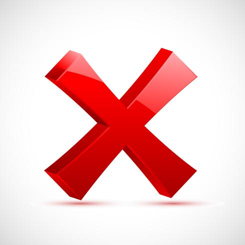 Rotes Kreuz Mark vektor