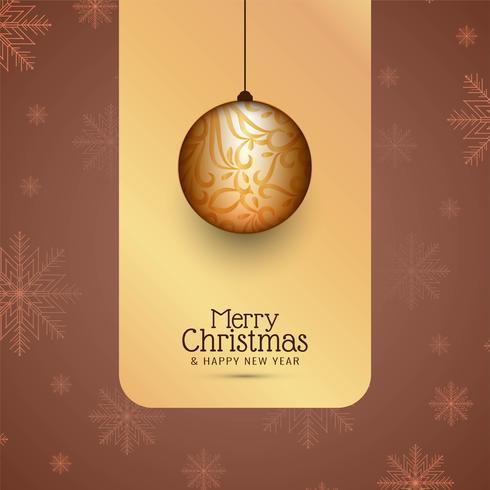 Abstrakt Merry Christmas färgglada festival bakgrund vektor