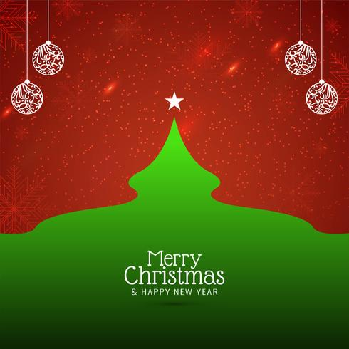 Abstrakter bunter Festivalhintergrund der frohen Weihnachten vektor