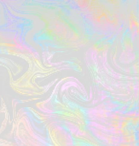 Vektor holographische Halbton-Design