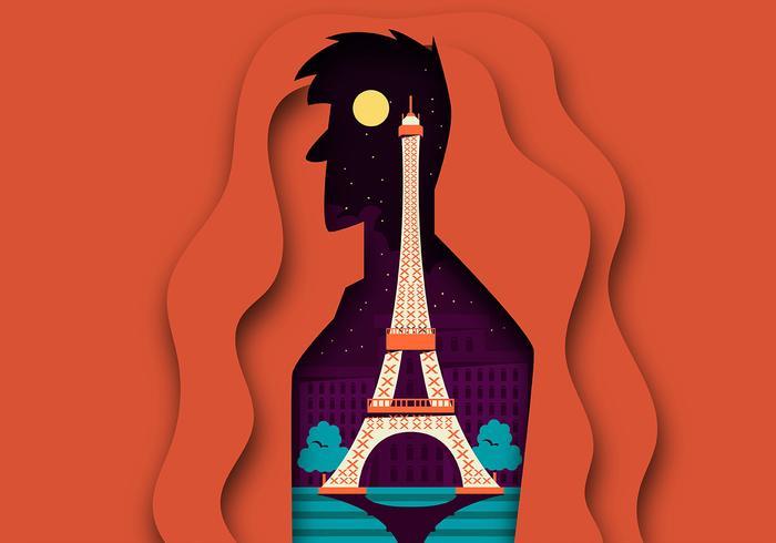Paris vektor