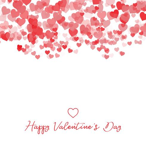 Dekorativer Valentinstagherzhintergrund vektor