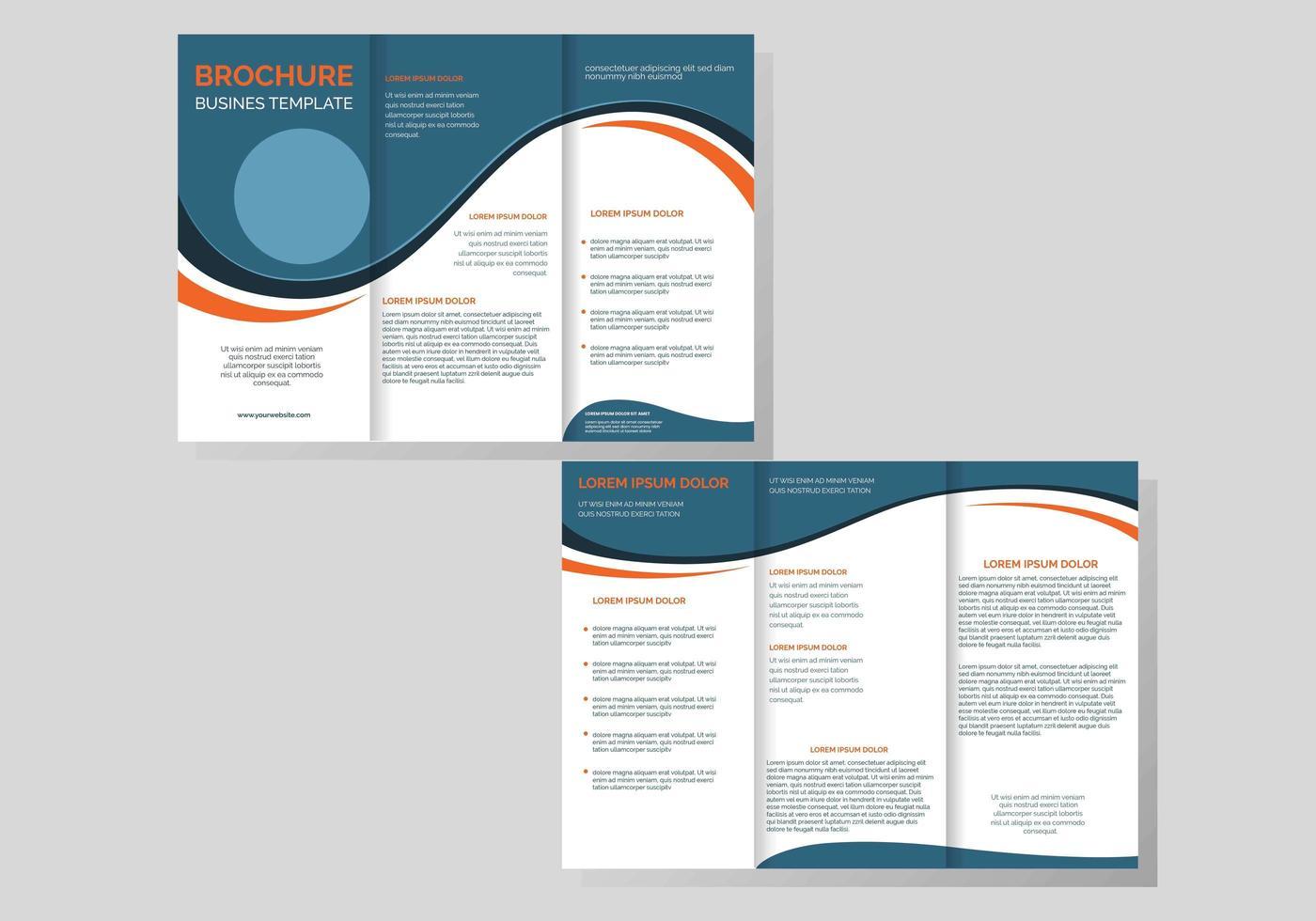Professional Brochure Template Vector 15 Vektor Kunst bei Vecteezy