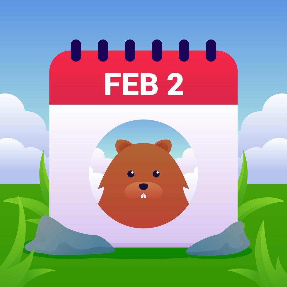 Groundhog Day vektor