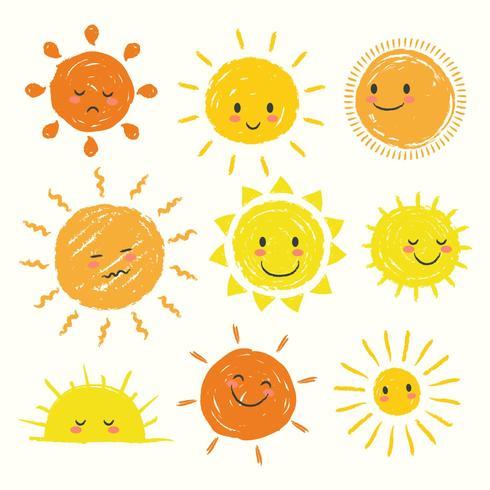 Sonne Clipart Eingestellt Download Kostenlos Vector Clipart Graphics Vektorgrafiken Und Design Vorlagen