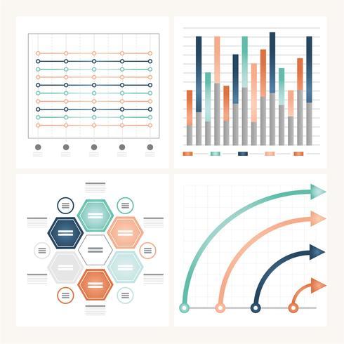 Vektor-Infografik-Illustration vektor