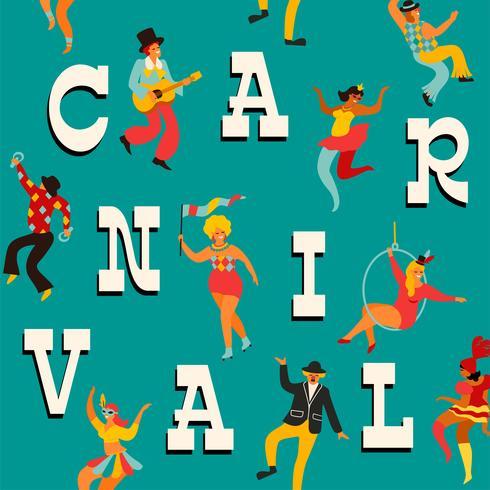 Vektor mallar för karneval koncept och andra användare.