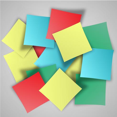 Vektor-Papierfortschrittshintergrund vektor