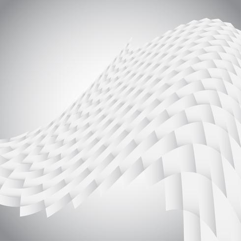 Abstrakte Beschaffenheit 3D vektor