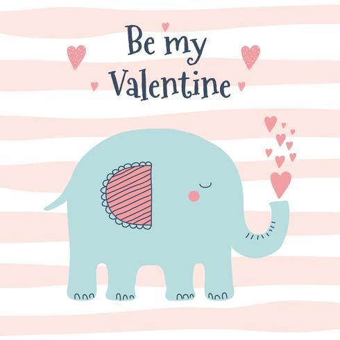 Sei mein Valentine Vector