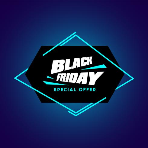 Black Friday-Verkaufsvektorabbildung vektor