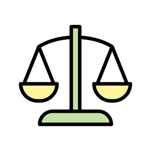 Balance-Vektor-Symbol vektor