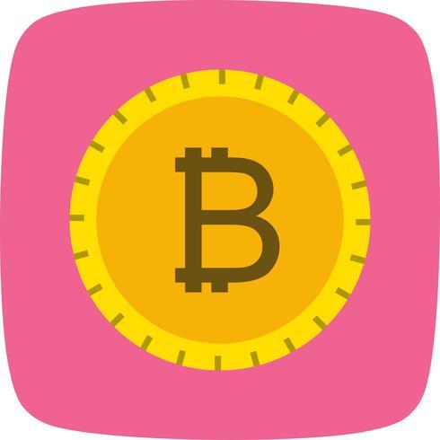 Bitcoin-Vektor-Symbol vektor