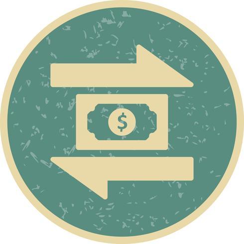 Transaktionsvektorikon vektor