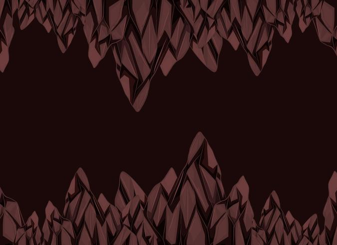 Bakgrundsdesign med bruna stenar vektor
