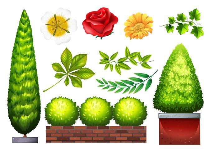 Trädgårdsarbete vektor