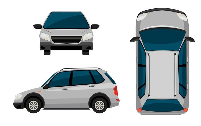 Ein Fahrzeug vektor