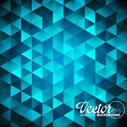geometriska trianglar bakgrund. Abstrakt polygonal design. vektor