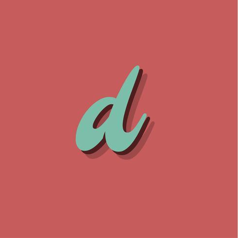 Retro- Zeichen von einem fontset, vektorabbildung vektor