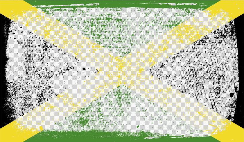 Grounge-angeredete Markierungsfahne, vektorabbildung vektor