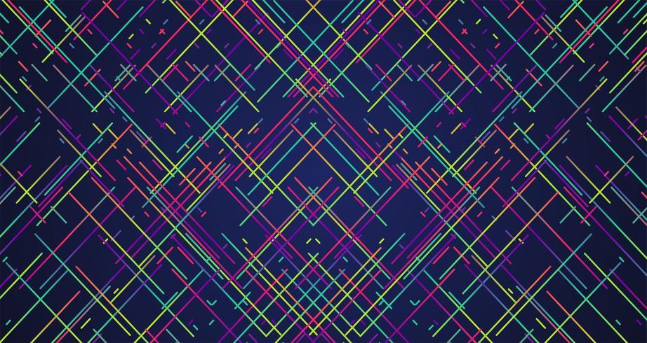 Bunte Streifen Hintergrund, Vektorillustration vektor
