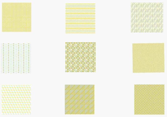 Funky retro vektor mönster pack två