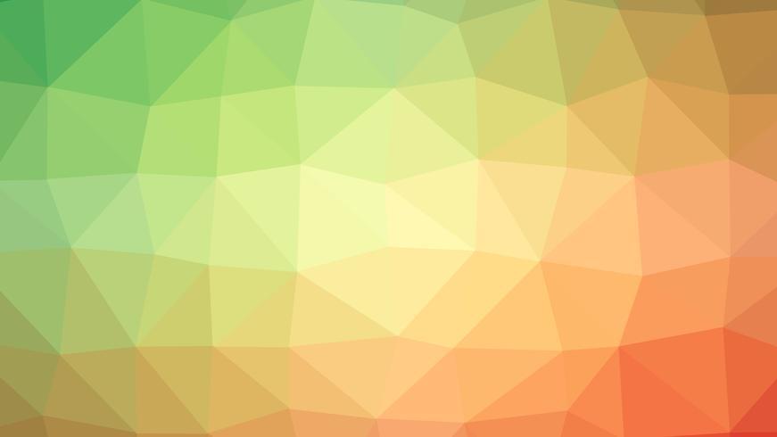 Buntes polygonales Verbindungsdesign mit, niedriger Polyvektorillustration vektor
