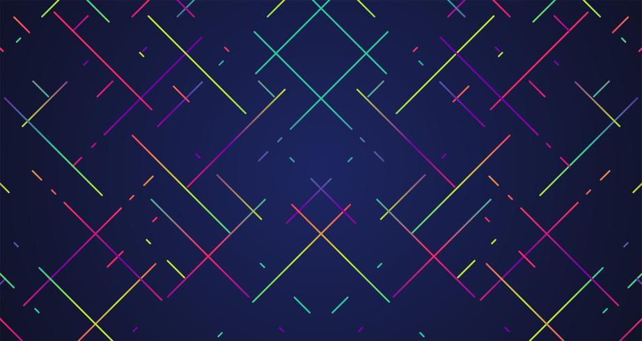 Färgglada ränder bakgrund, vektor illustration